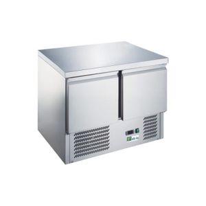 ARMOIRE RÉFRIGÉRÉE Table réfrigérée avec pieds réglables - 2 portes