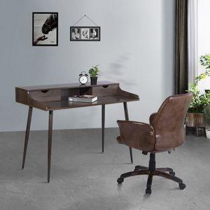 BUREAU  Homy Casa Bureau d'ordinateur Scandinavie Meuble d