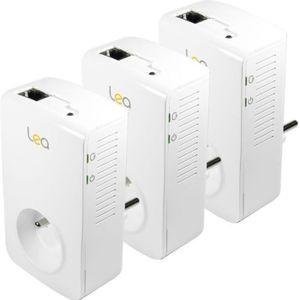 COURANT PORTEUR - CPL 3 CPL NetSocket 1800 Mbits/s Ethernet Gigabit avec