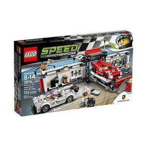 ASSEMBLAGE CONSTRUCTION LEGO 75876 Speed Champions Porsche 919 Hybrid and