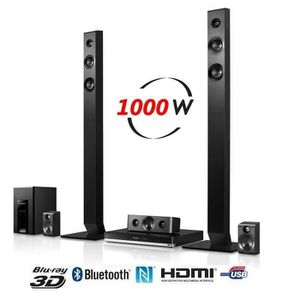 Ensemble home cinéma PANASONIC SC-BTT465EGK Home cinéma 5.1 Bluetooth 3