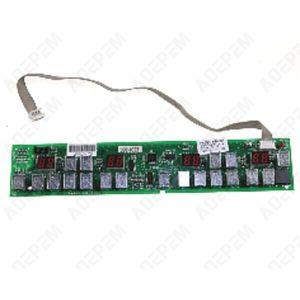 PLAQUE INDUCTION Module de clavier pour Table induction Sauter - 36