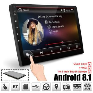 AUTORADIO TEMPSA 10.1 Pouces Android 8.1 Quad Gore WIFI Auto
