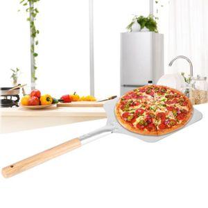 PALETTE - CORNE  Pelle à Pizza Outil de cuisine Inox  Bois 9x11x23c