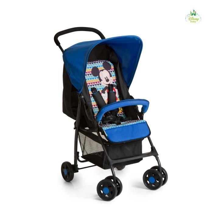POUSSETTE  HAUCK - Poussette Sport - Mickey Geo - Blue