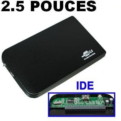 boitier externe usb pour disque dur 2 5 pouces ide prix pas cher cdiscount. Black Bedroom Furniture Sets. Home Design Ideas