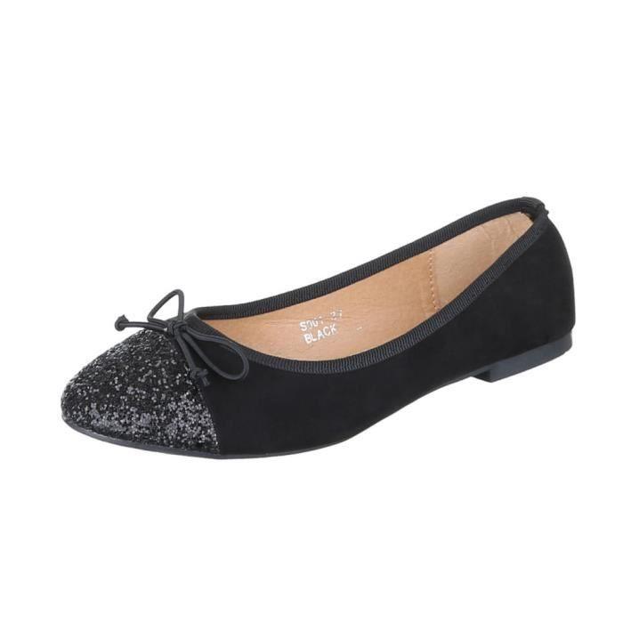 femme Ballerinas chaussure Glitter escarpin zDcNqKsmGu