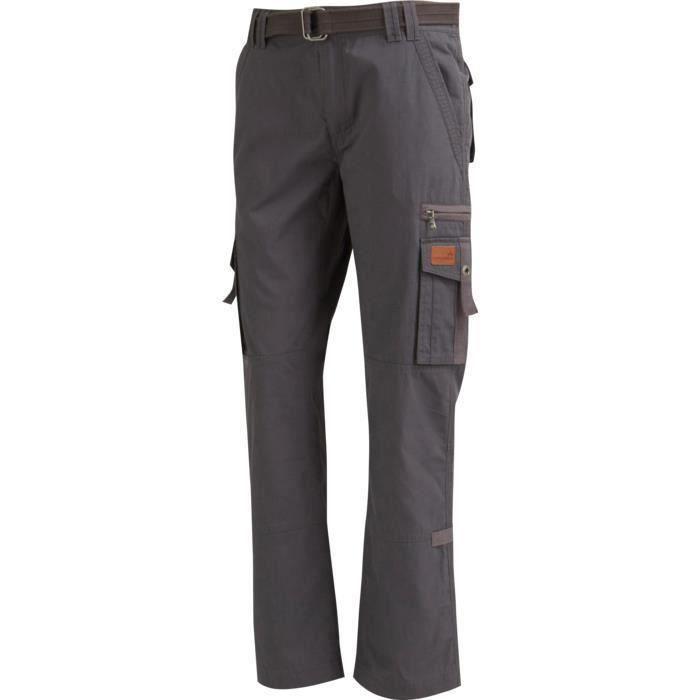 pantalon randonn e homme wanabee springbrook pan 2 gris prix pas cher soldes d s le 10. Black Bedroom Furniture Sets. Home Design Ideas