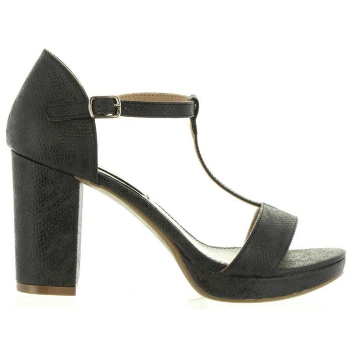 Sandales pour Femme XTI 30559 SERPIENTE NEGRO