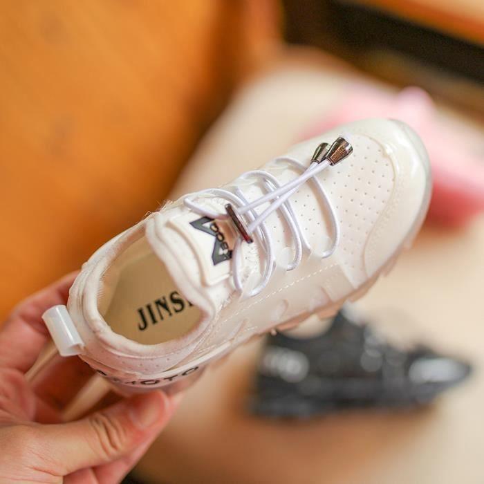 Baskets Tennis pour enfants chaussures de course bas souples