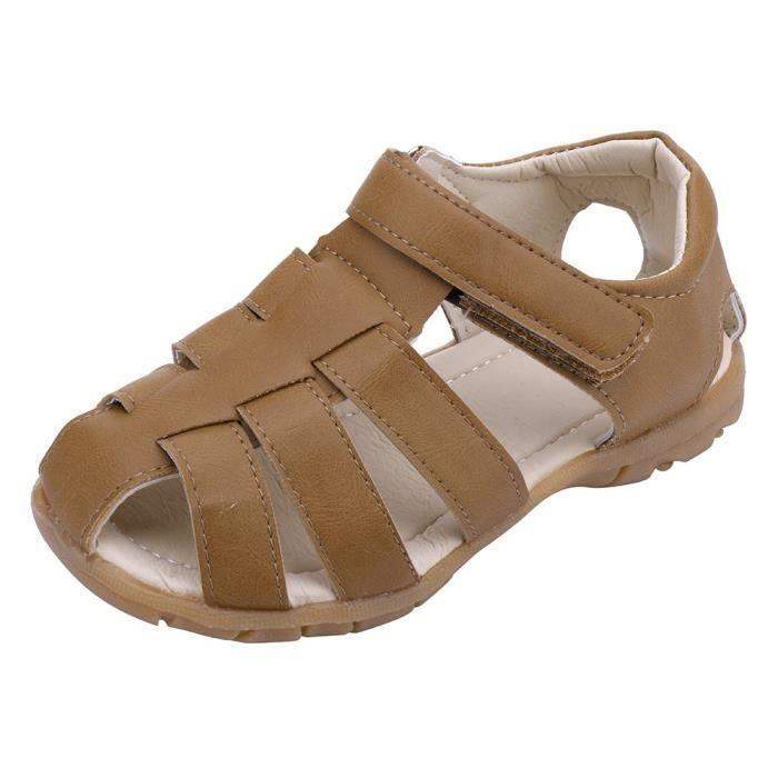 ce67a2a245740 SANDALE - NU-PIEDS Enfants Enfants Chaussures Garçon Fille Fermé Toe