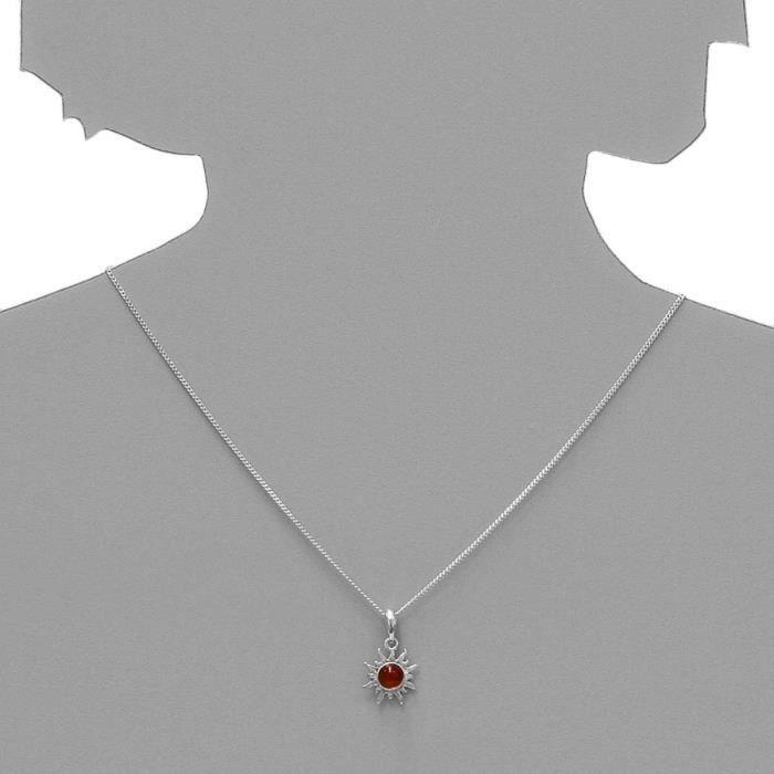 051a200010890 - Collier Femme - Argent 925-1000 - Ambre W8VTR