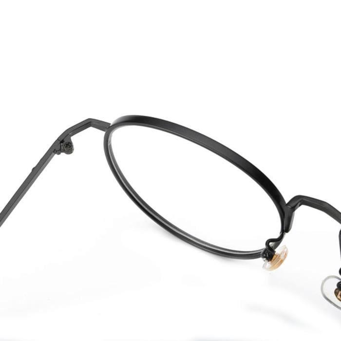 noir Femmes Hommes Lunettes LJL70421131BK claires lentilles Lunettes Lunettes Myopie lunettes métalFrame 1234 fqAw7