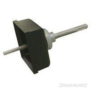 SILVERLINE Coupeuse de trous carrés pour maçonnerie - Tranchants usinés avec précision