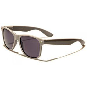 5a3ef772aed07d Lunette de soleil homme style retro couleur grise verre fume - Achat ...