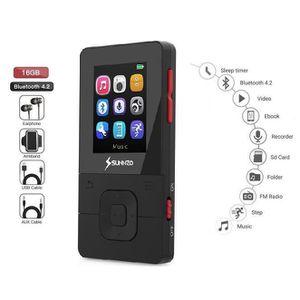 LECTEUR MP3 Lecteur de Musique Numérique MP3 Bluetooth 16 Go a