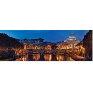PUZZLE Puzzle 1000 pièces Panoramique : Rome aille Unique