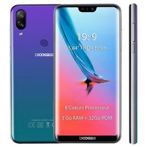SMARTPHONE DOOGEE N10 Smartphone  3Go RAM + 32Go ROM 5.84