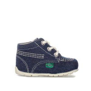 BOTTE Chaussures Kickers Kick Hi pour Bébé en bleu foncé
