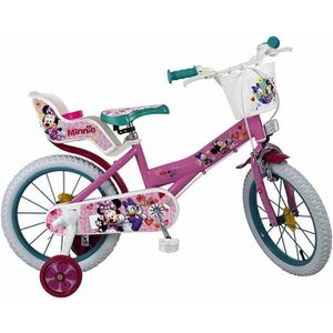 VÉLO ENFANT Vélo Minnie Mouse 16 pouces 5 a 7 ans Neuf