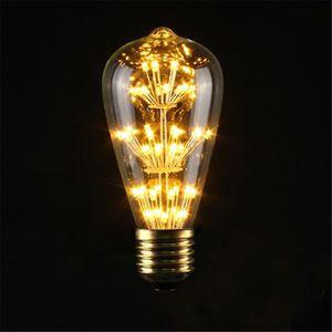 AMPOULE - LED 220v 3w e27 Edison Lampe à filaments vintage retro