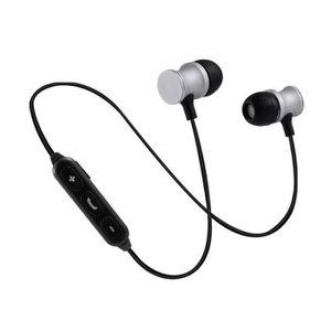 CASQUE - ÉCOUTEURS Ecouteurs Bluetooth Metal pour IPHONE 6/6S Smartph