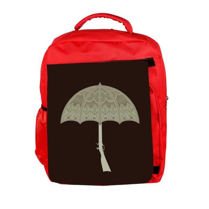 Eco Friendly Hommes Canvas Umbrella Gun 2495 Sac à dos Rucksack école Voyage unisexes occasionnels Toile Ba W6IW5