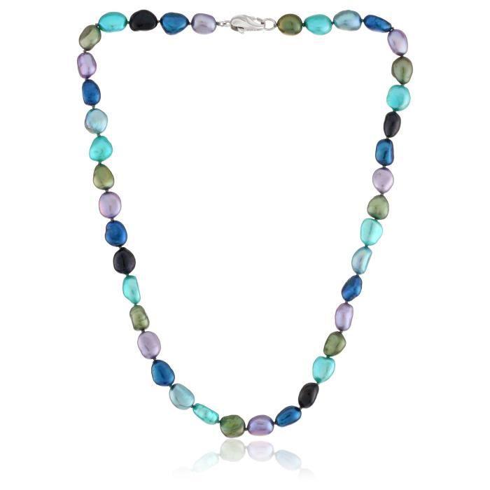 Honora Peacock culture deau douce collier de perles, 18