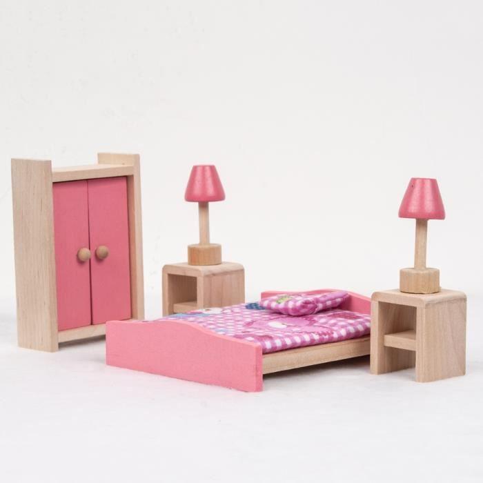 chambre poupee achat vente jeux et jouets pas chers. Black Bedroom Furniture Sets. Home Design Ideas
