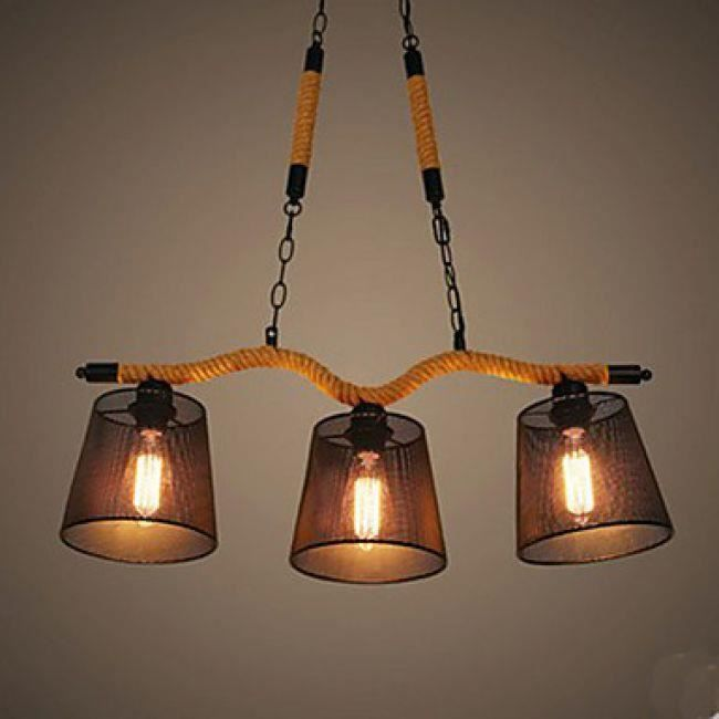 lookshop lustre rustique en bois 3 lumi res achat vente lookshop lustre rustique en. Black Bedroom Furniture Sets. Home Design Ideas