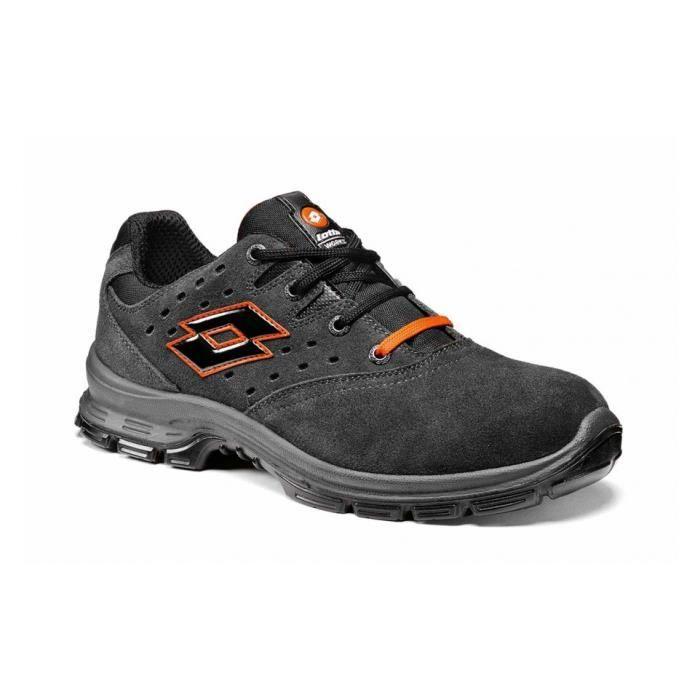 grande vente 13f3a a97ed Chaussure de securite homme legere LOTTO SPRINT 201 BASKETS CONFORTABLES  S1P SRC - LOTTOWORKS - Q8361