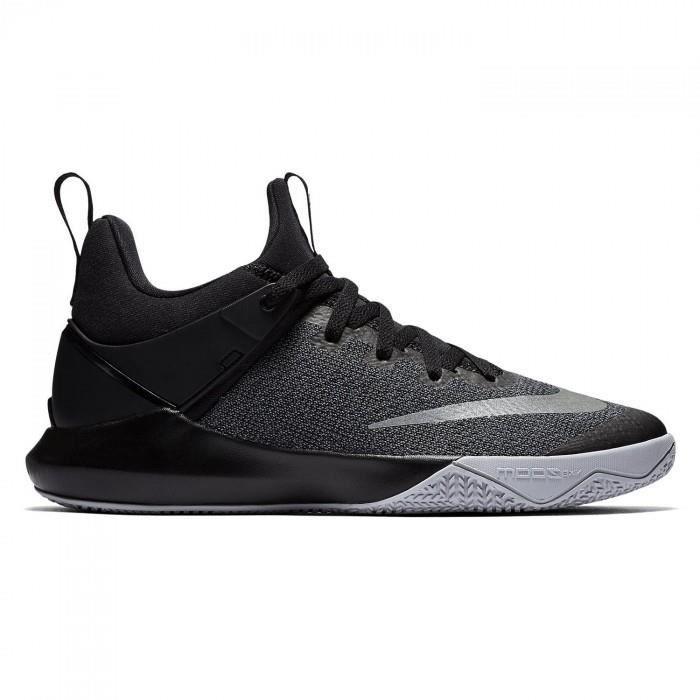 meilleure sélection b1a4f 60e59 Chaussure de Basketball Nike Zoom shift Noir pour homme