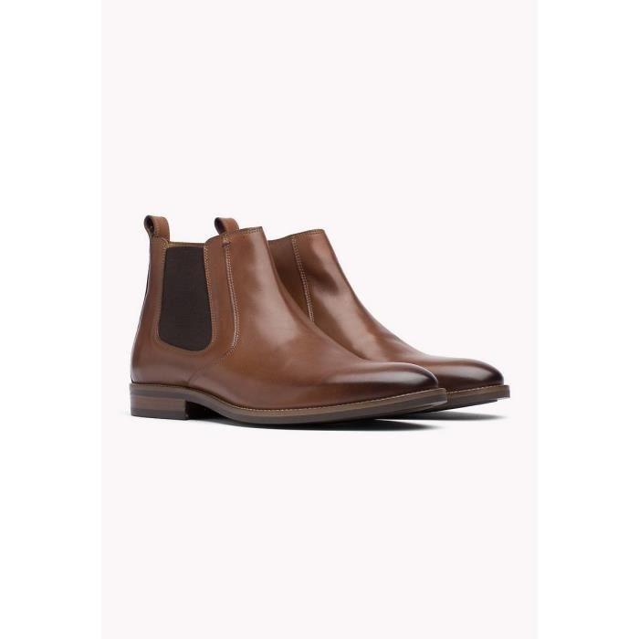 Boots homme Tommy Hilfiger noires, Achat Vente de Boots