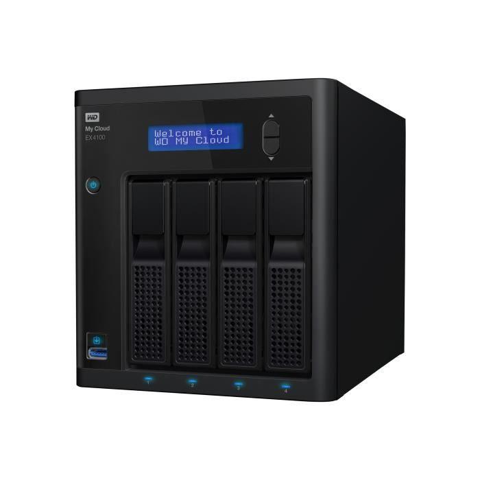 SERVEUR STOCKAGE - NAS  WESTERN DIGITAL My Cloud EX4100 - 32To