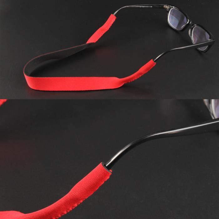 YKS fashion Néoprène Lunettes de soleil corde rouge