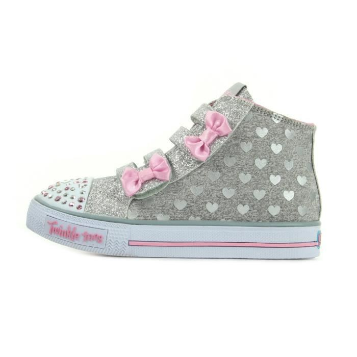 Baskets Skechers Twinkle Toes Light Up Doodle Day
