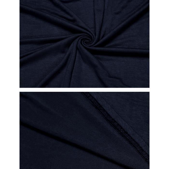 décontractée ajustable et et courbée Robe décontractée décoration avant wgaZAt5q