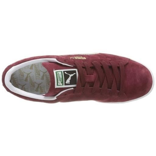 baskets suede classic homme puma 352634 h 41 Rouge