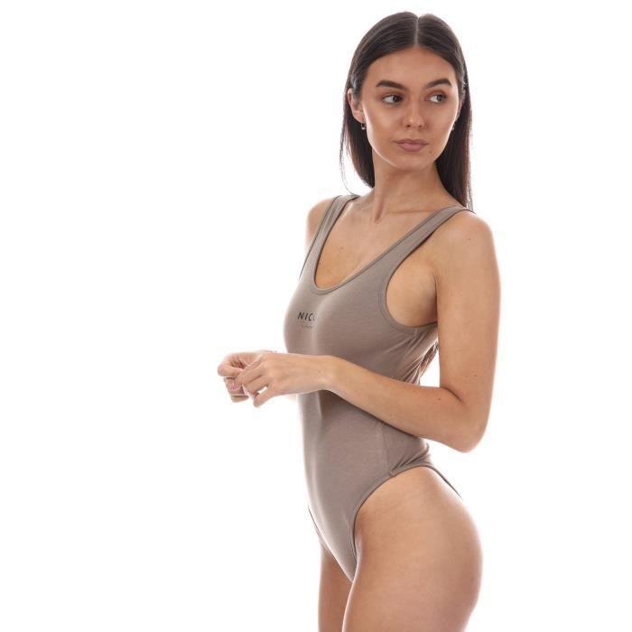En Crème Logo Nicce Body Pour Femme Mini pxnw7O