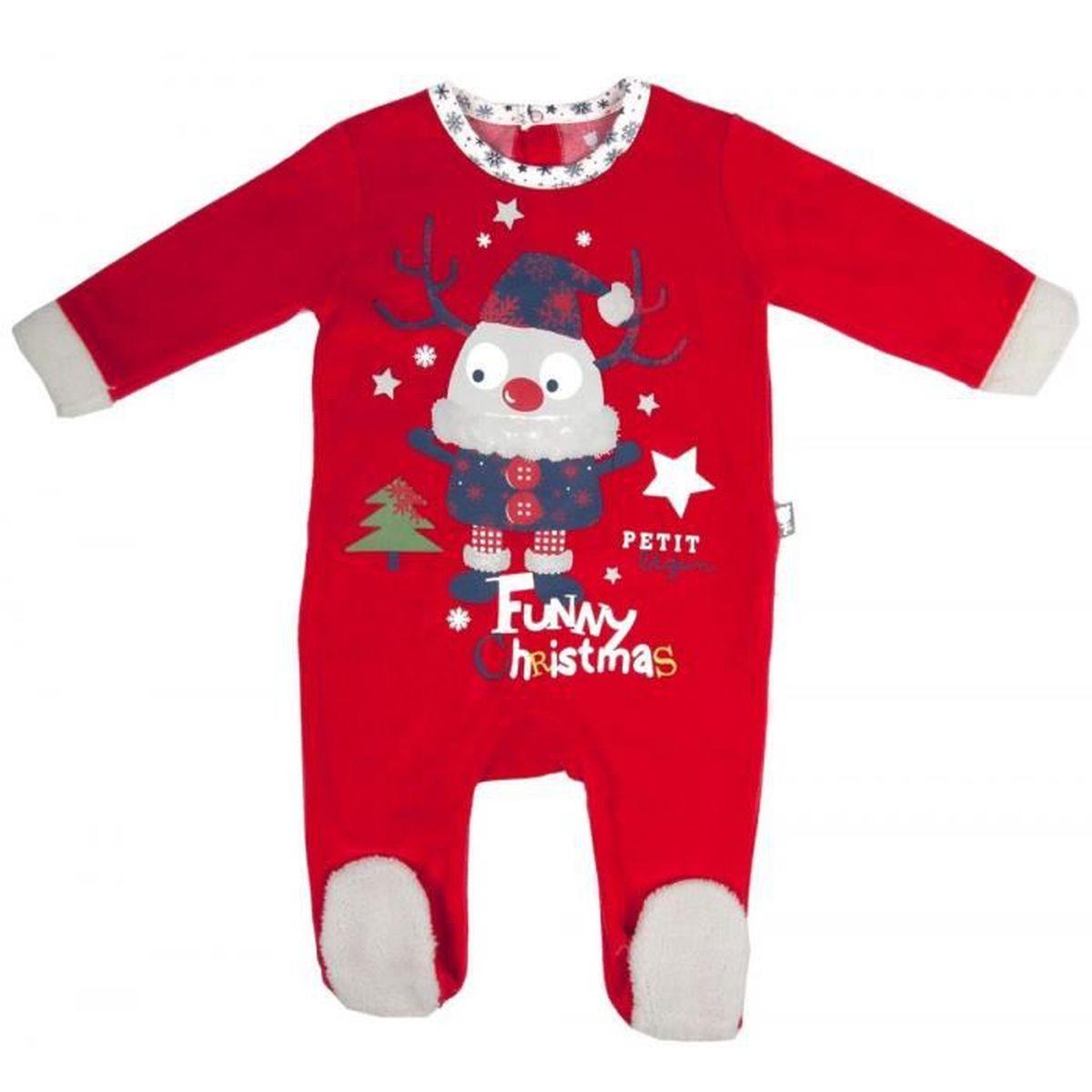 f0a541335cb25 Grenouillère bébé Funny Noel - Taille - 18 mois (86 cm) - Achat ...