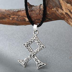 SAUTOIR ET COLLIER Odal Rune Pendentif Amulette Nordique Viking Bijou