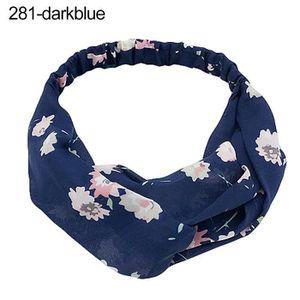 GILET RÉFLÉCHISSANT Femmes Twisted Headband Bandeau Floral Élastique B