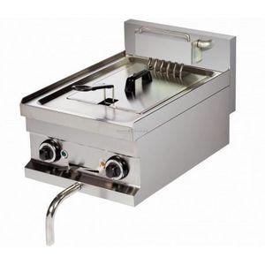 FRITEUSE ELECTRIQUE Friteuse professionnelle avec robinet - 8 Litres -