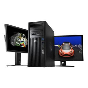 UNITÉ CENTRALE  HP Workstation Z420 - Windows 7 - E5-1603 4GB 500G
