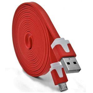 CÂBLE TÉLÉPHONE Cable Noodle 3m Micro USB pour ASUS ZenFone 2 Andr