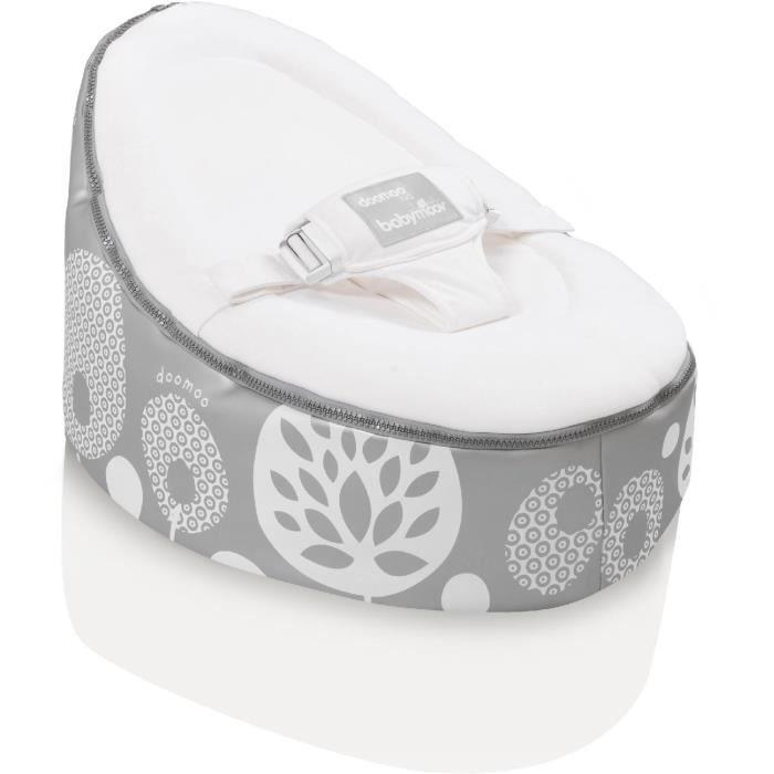 babymoov transat volutif doomoo nid flower argent. Black Bedroom Furniture Sets. Home Design Ideas
