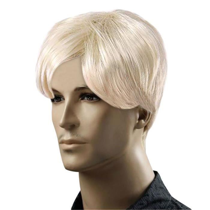PERRUQUE Perruques blondes pour hommes perruque