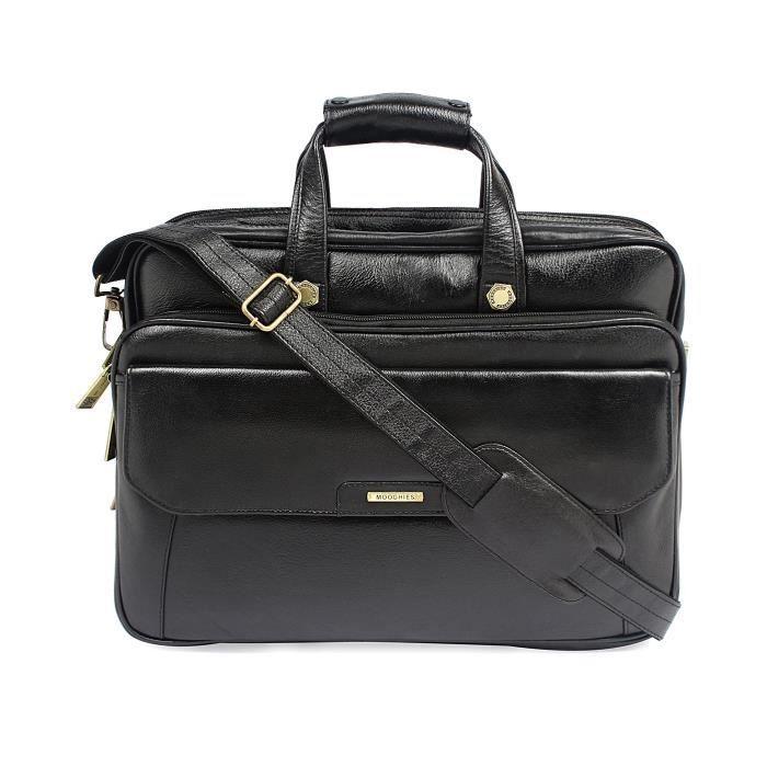 Bureau en cuir pur hommes cum Laptop Bag - A Marque En Inde Exquiste Designer Produit PQDP6