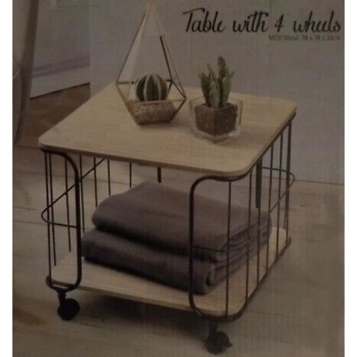 Table basse fer forge achat vente pas cher - Table d appoint fer forge ...