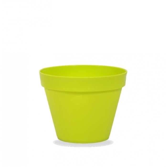 pot de fleur exterieur plastique de couleur - achat / vente pot de